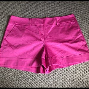 New York and Company Pink Shorts